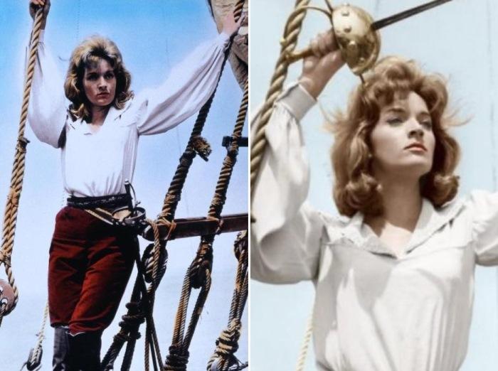 Лиза Гастони в роли Мэри Рид, 1961   Фото: cinema.de и woman-space.ru