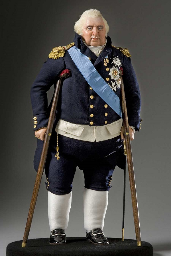 Игрушечная фигурка короля Людовика XVIII.