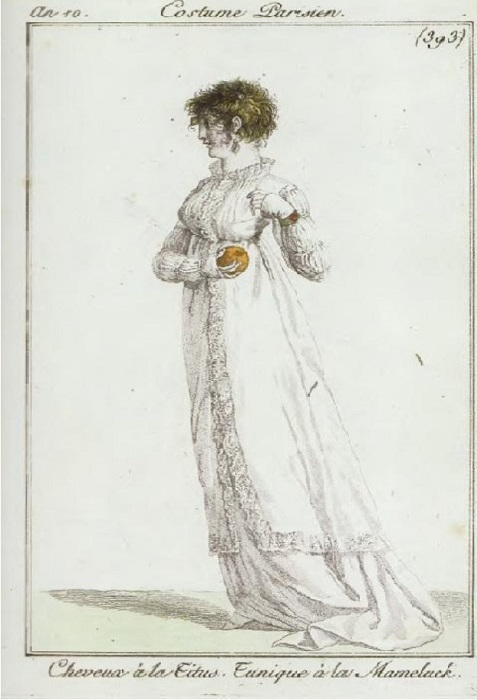 Иллюстрация к модному журналу начала девятнадцатого века.